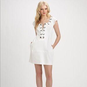 Nanette Lepore Workaholic Dress in White